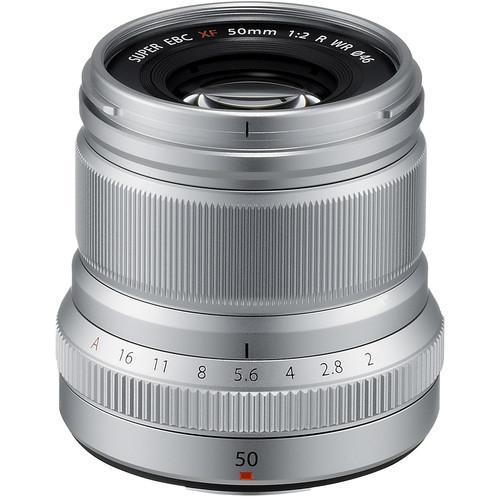 Fujifilm XF 50mm f/2 R WR - Silver 0
