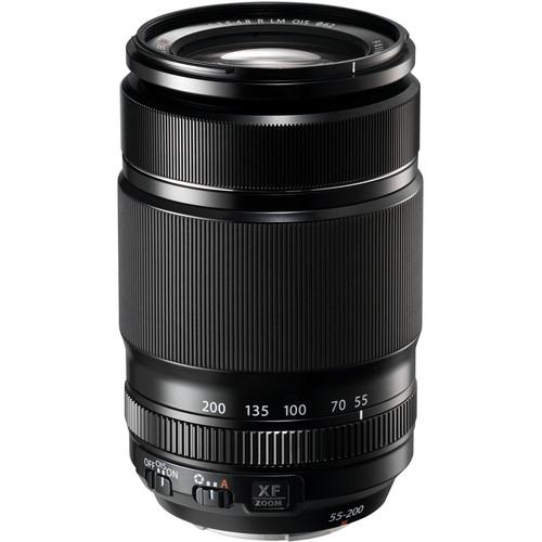 Fujifilm XF 55-200mm f/3.5-4.8 R LM O.I.S. Black 0