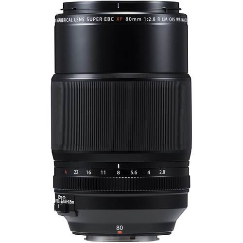 Fujifilm XF 80mm f/2.8 LM OIS WR Macro Black 1