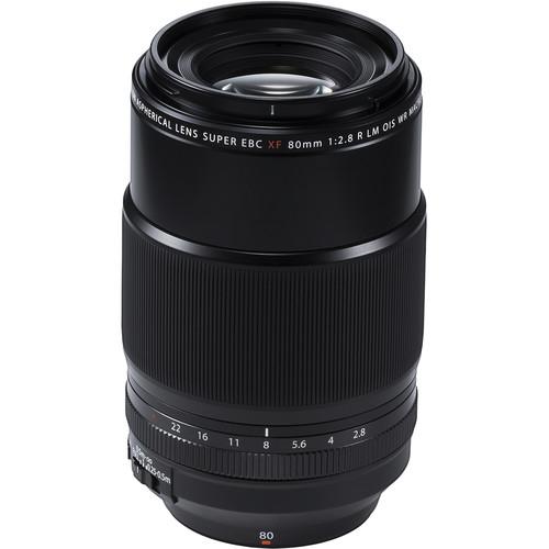 Fujifilm XF 80mm f/2.8 LM OIS WR Macro Black 0