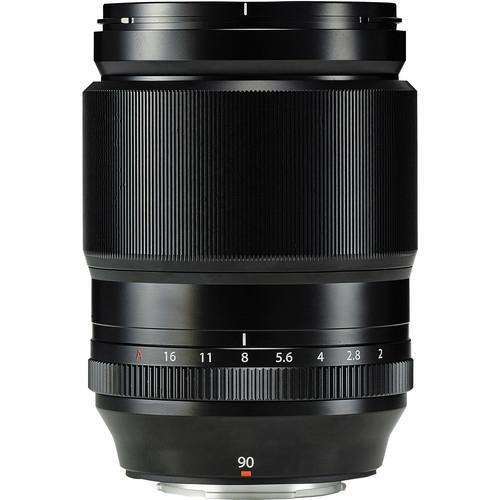 Fujifilm XF 90mm f/2.0 R LM WR Black 1
