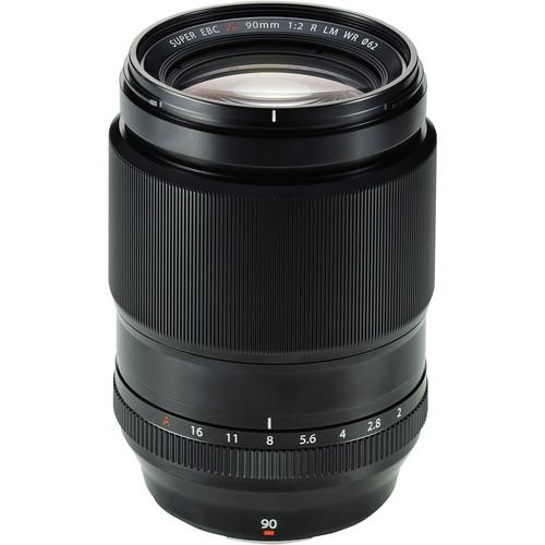 Fujifilm XF 90mm f/2.0 R LM WR Black 0