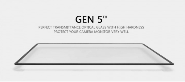 GGS LARMOR GEN 5 protectie din sticla pentru ecran + parasolar ecran - Canon 1DX , 1DX MII 0