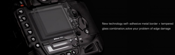 GGS LARMOR GEN 5 protectie din sticla pentru ecran + parasolar ecran - Canon 1DX , 1DX MII 1