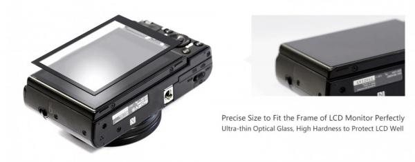 GGS LARMOR protectie din sticla pentru ecran - CANON EOS-M6, EOS-M50, EOS-RP 2