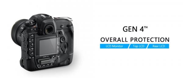 GGS LARMOR protectie din sticla pentru ecran - NIKON D5300 / D5500 / D5600 0