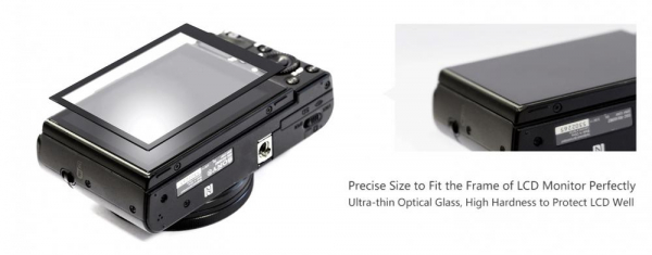 GGS LARMOR protectie din sticla pentru ecran - NIKON D7100 / D7200 2
