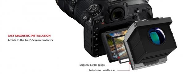GGS MJ-F2 ocular LCD portabil  5