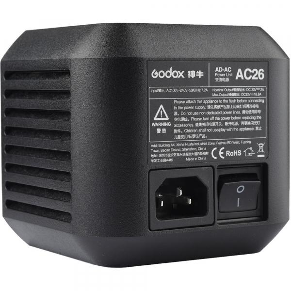 Godox AC26 adaptor alimentare retea pentru bltz-urile AD600Pro 2