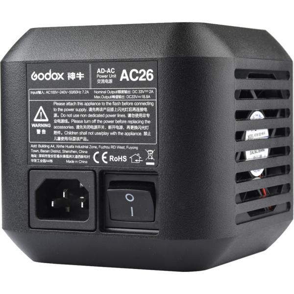 Godox AC26 adaptor alimentare retea pentru bltz-urile AD600Pro 0