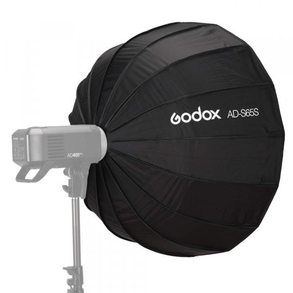 GODOX AD-S65S Softbox cu grid 65cm (AD400PRO) - Interior Argintiu [1]