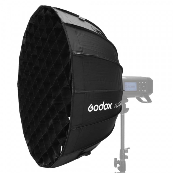 GODOX AD-S65W Softbox cu grid 65cm (AD400PRO) - Interior Alb 2