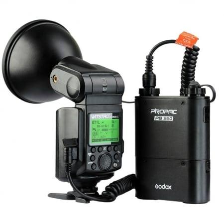 Godox AD360II-C - blitz TTLcu acumulator propriu, pentru Canon 0