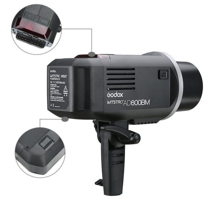 Godox AD600BM WITSTRO Manual All-in-One Outdoor Flash [5]