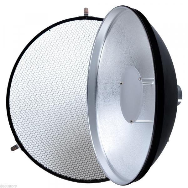 Godox Beauty Dish AD-S3 cu Grid AD-S4 pentru WITSTRO Speedlite Flash AD180/AD360 [0]