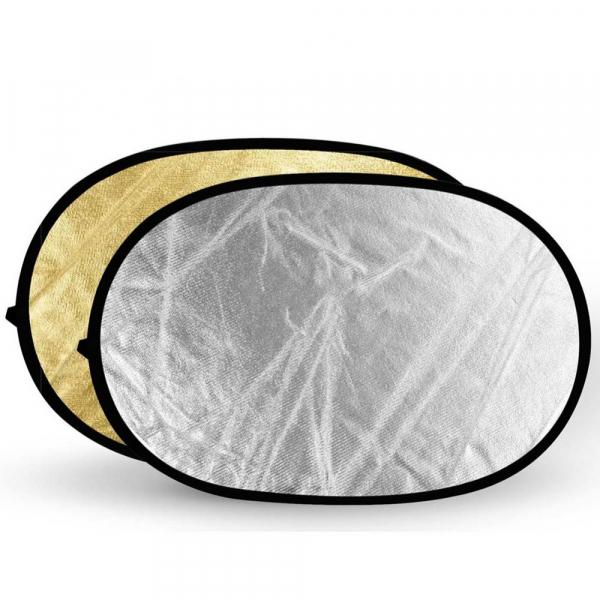 Godox blenda 2 fete Gold/Silver  80 x 120 cm 0