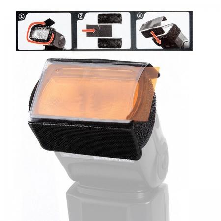 Godox CF-07 filtre (gel) coliorate 39x80mm pentru blitz cu patina [3]