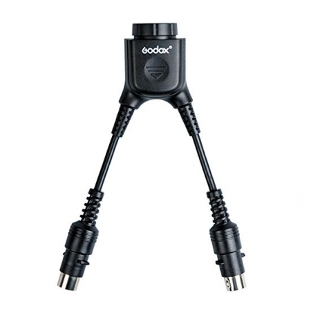 Godox DB-02 - cablu adaptor in Y pentru bateriile PB960, AD360, AD180 0