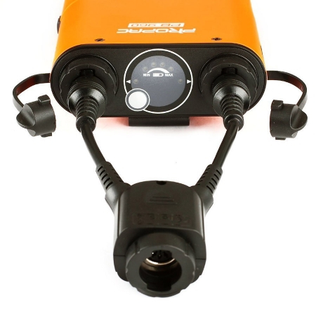 Godox DB-02 - cablu adaptor in Y pentru bateriile PB960, AD360, AD180 6