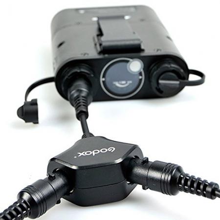 Godox DB-02 - cablu adaptor in Y pentru bateriile PB960, AD360, AD180 4