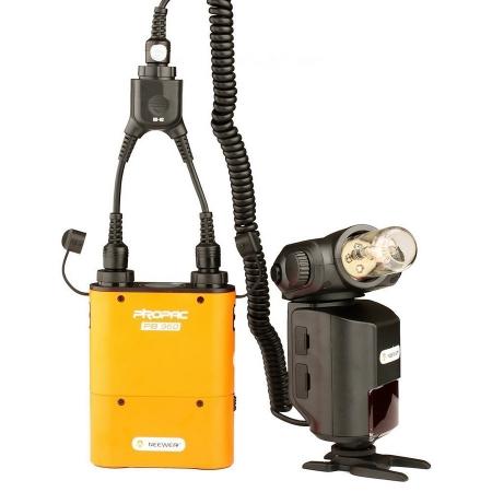 Godox DB-02 - cablu adaptor in Y pentru bateriile PB960, AD360, AD180 5
