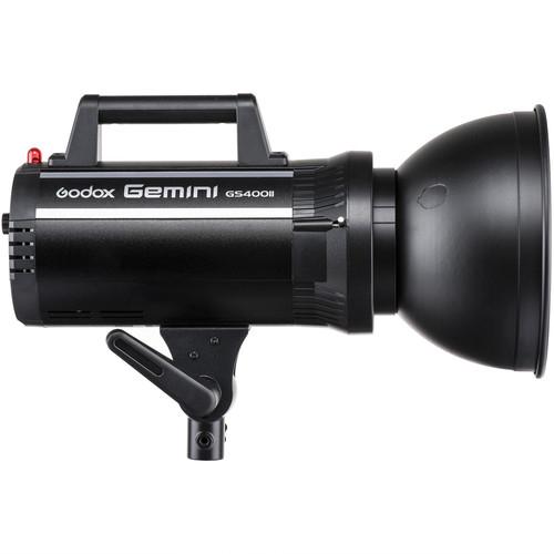 Godox GEMINI GS400II versiunea II, blitz studio kit 3X400Ws 3