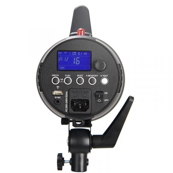 Godox GEMINI GS400II versiunea II, blitz studio kit 3X400Ws 1