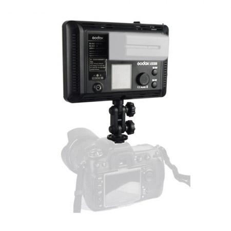 Godox LED308II c - lampa video cu voleti si telecomanda, 3300-5500K 4