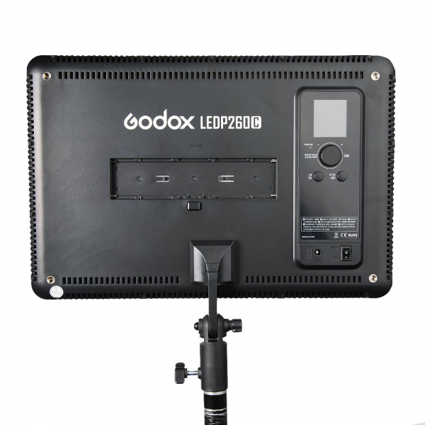 Godox LEDP260C- lampa video ultra slim 4