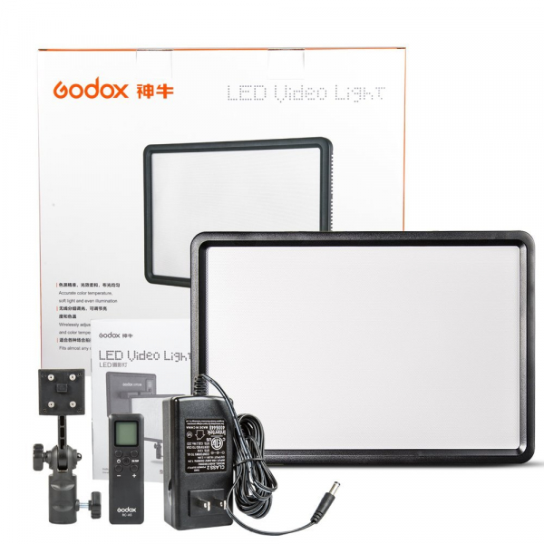 Godox LEDP260C- lampa video ultra slim 1