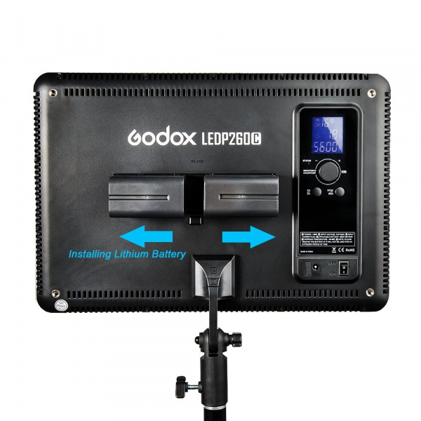 Godox LEDP260C- lampa video ultra slim 5