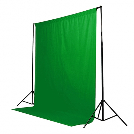 Godox MB69-CG - fundal textil 1.85x2.75m, verde [0]