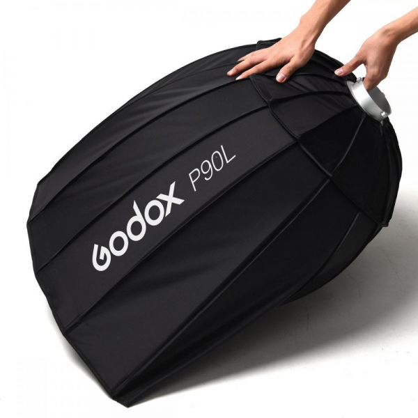 Godox P90L softbox parabolic 90cm + montura Bowens 7