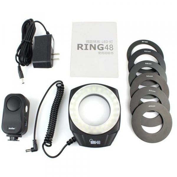 Godox Ring48 Macro Ring Light - lampa circulara macro 48 leduri 0