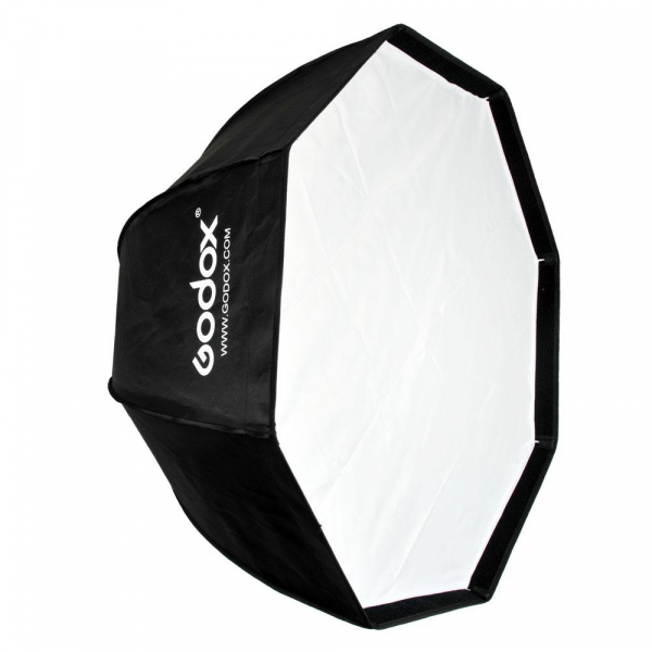 Godox SB-FW 120cm , softbox octogonal + grid + montura Bowens 1