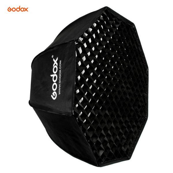 Godox SB-FW 120cm , softbox octogonal + grid + montura Bowens 0