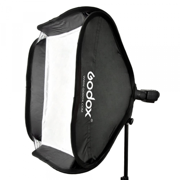 Godox SFUV5050 Softbox 50x50 cm cu Bracket S-type , softbox universal  2