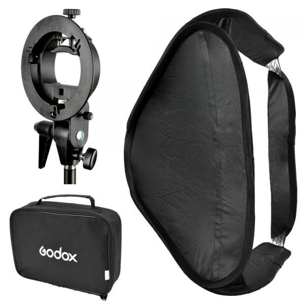 Godox SFUV6060 Softbox 60x60 cm cu Bracket S-type , softbox universal  0