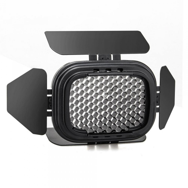 Godox Speedlite Color BD-07 - Grid cu voleti si filtre pentru AD200 1