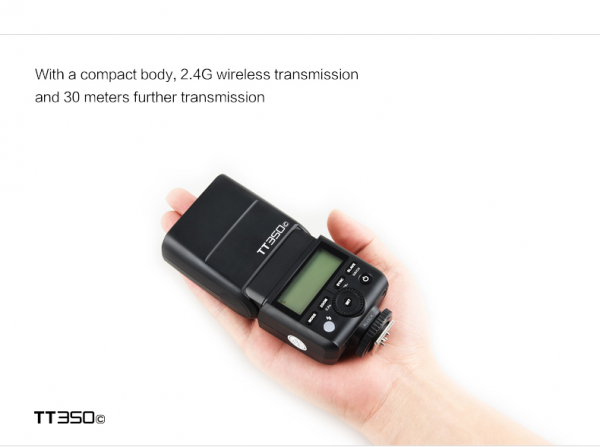 Godox TT350C- Blitz Mirrorless - Canon 1