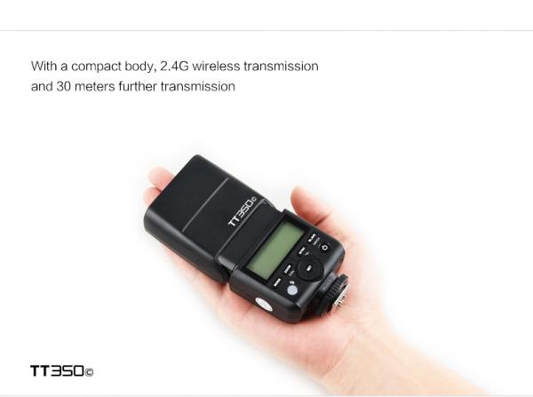 Godox TT350F - Blitz Mirrorless pentru Fujifilm 1