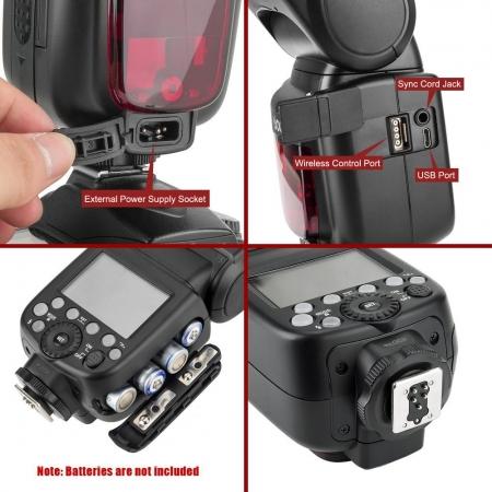 Godox TT685C Thinklite - blitz TTL, HSS, radio, pentru Canon [5]