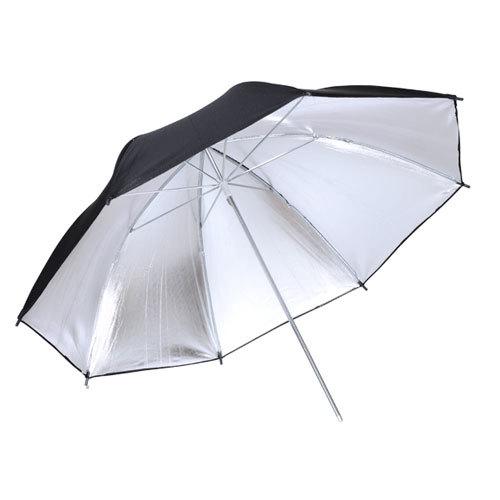 Godox  umbrela  84cm (argintiu interior  - negru exterior) 0