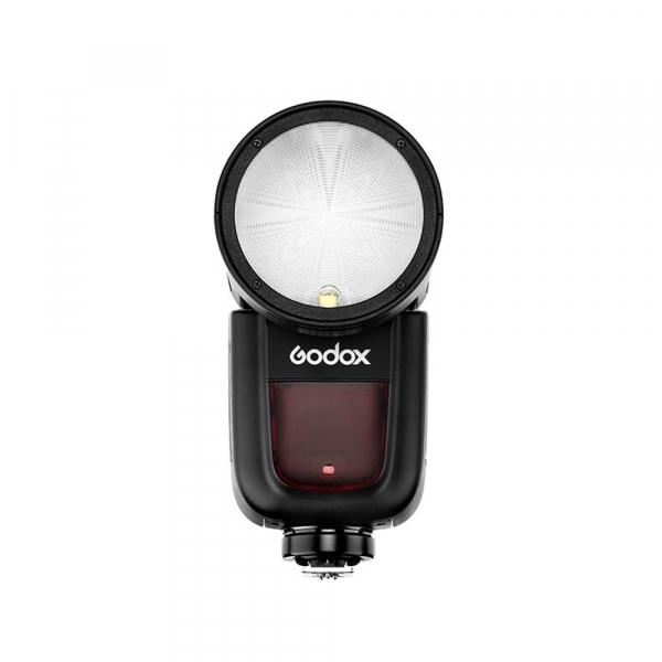 Godox V1-C , blitz cu cap rotund - TTL Li-Ion - Canon E-TTL II 1
