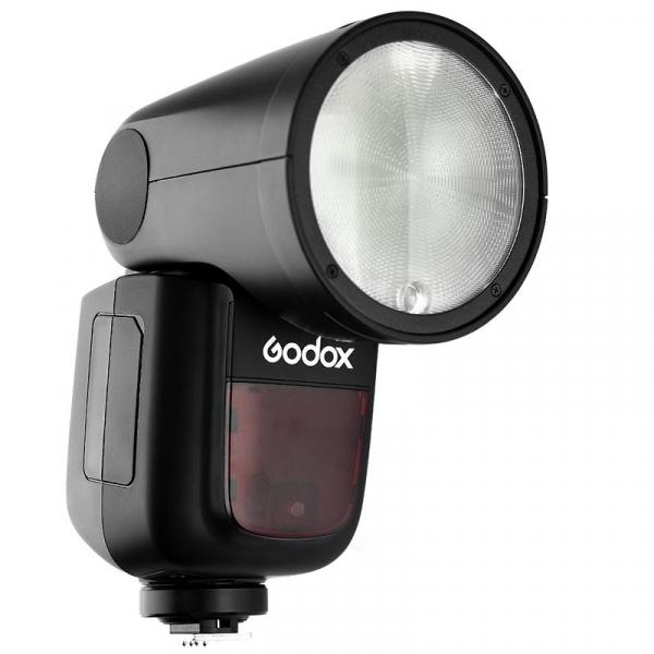 Godox V1-C , blitz cu cap rotund - TTL Li-Ion - Canon E-TTL II 2