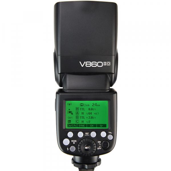 Godox Ving V860-O II kit, blitz 2.4G Wireless E-TTL pentru Olympus/Panasonic , numar director 60 2