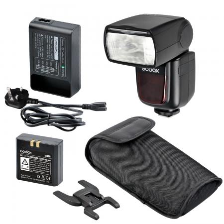Godox Ving V860-O II kit, blitz 2.4G Wireless E-TTL pentru Olympus/Panasonic , numar director 60 0
