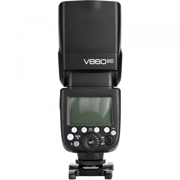 Godox Ving V860C II kit blitz 2.4G Wireless E-TTL pentru Canon, numar director 60 4