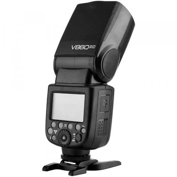 Godox Ving V860C II kit blitz 2.4G Wireless E-TTL pentru Canon, numar director 60 6
