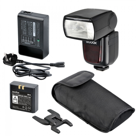Godox Ving V860C II kit blitz 2.4G Wireless E-TTL pentru Canon, numar director 60 0